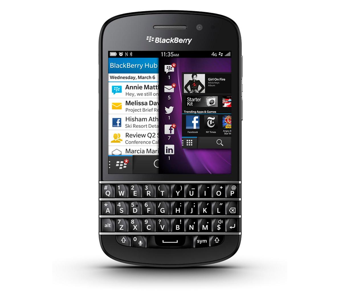 Blackberry Q10 teclaatecla