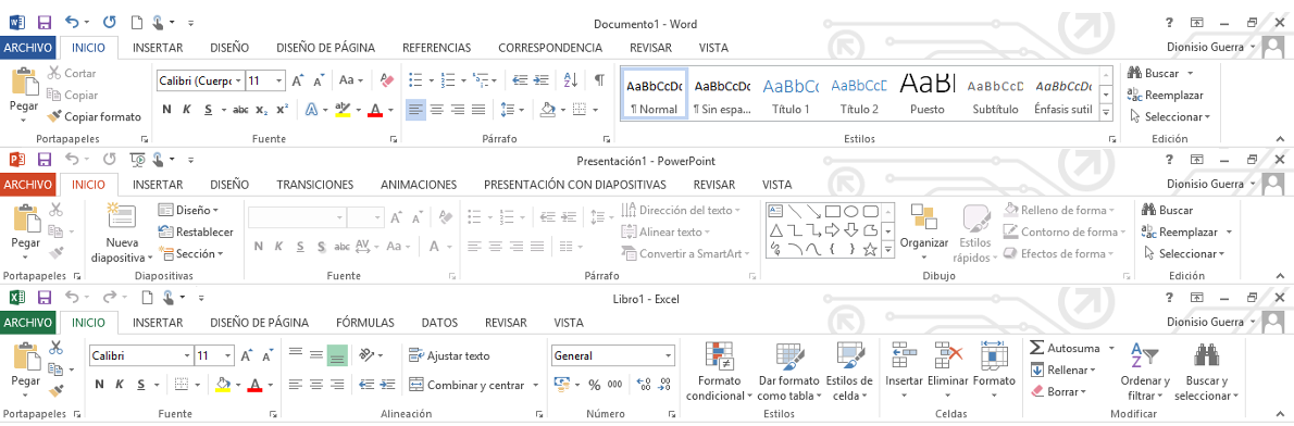 Word Excell Power Point Office 365