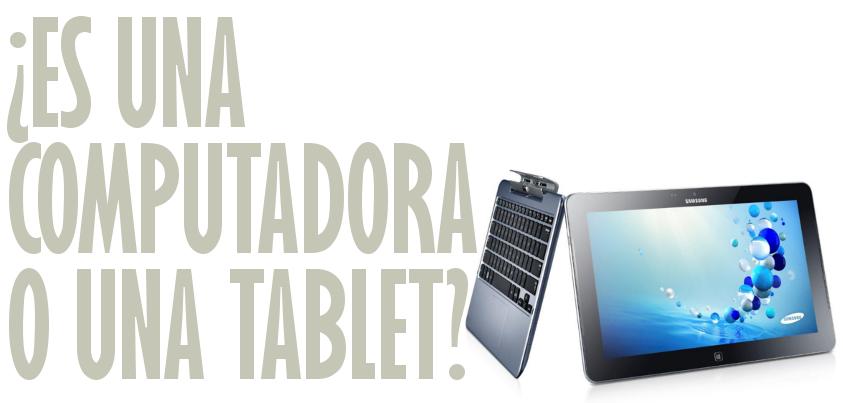 Es una computadora o una tablet