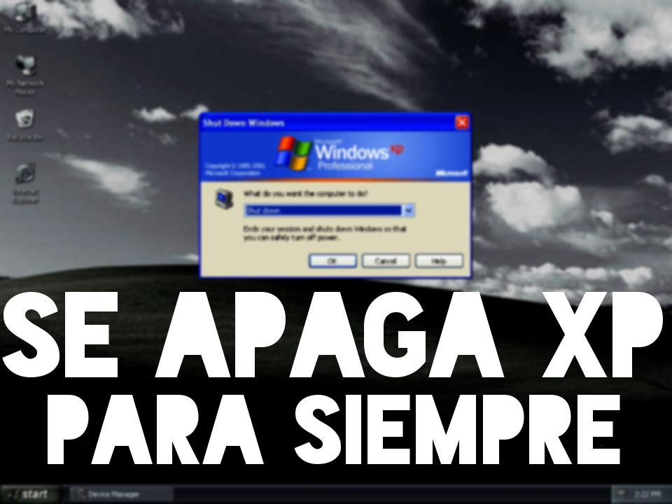 SE APAGA XP
