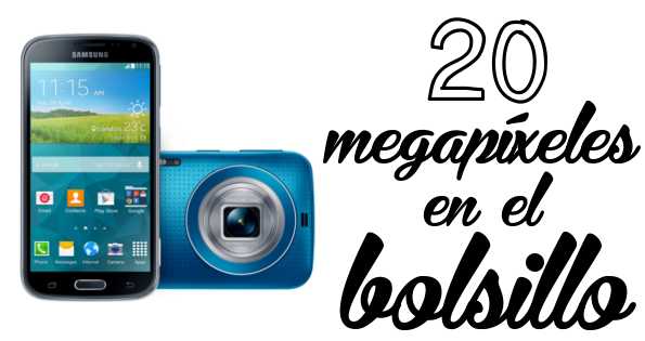 20 megapíxles Samsung Galaxy K Zoom