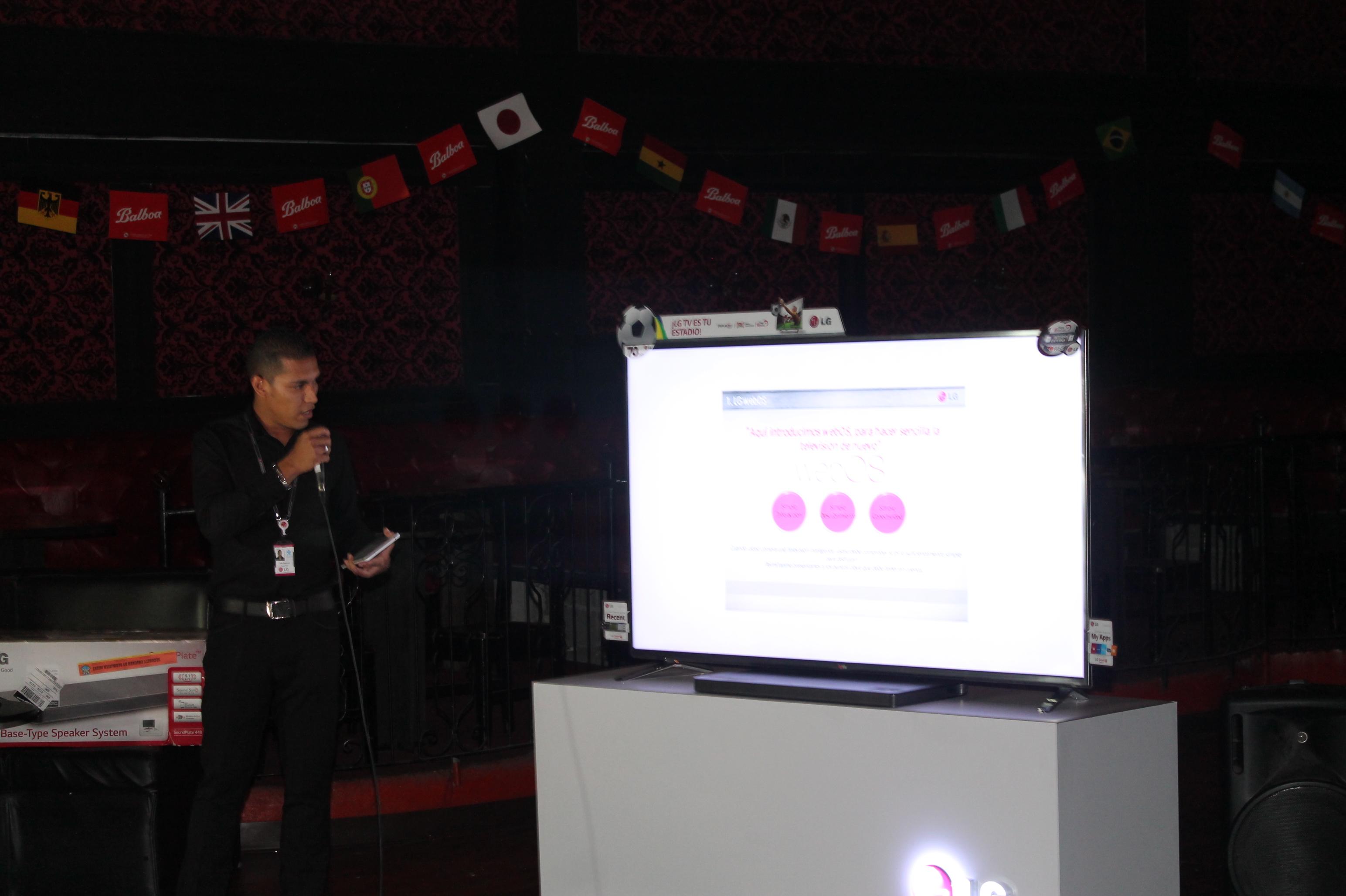 webOS 3.0 Panamá