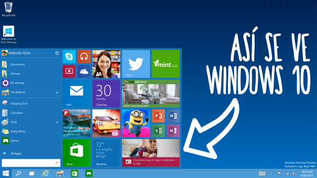 Windows 10 TeclaATECLA