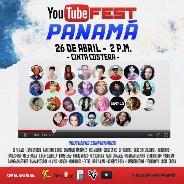 #YoutubeFestPanama