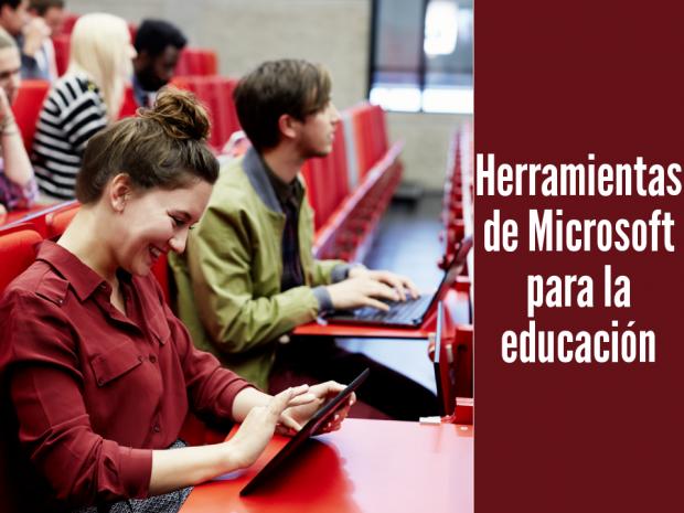 Microsoft Herramientas Educación