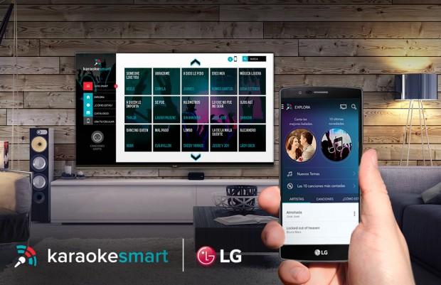LG Smart Karaoke