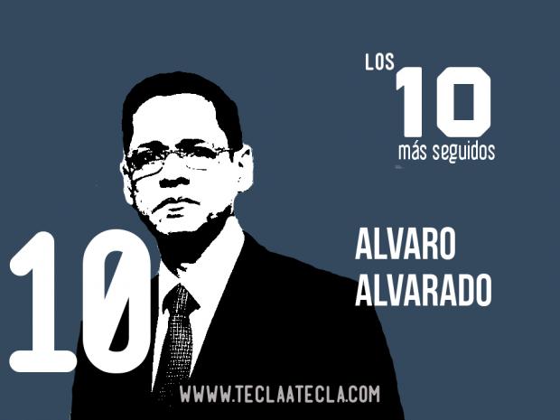 Alvaro Alvarado - Los 10 más seguidos en Redes Sociales