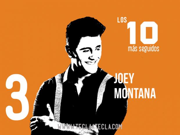 Joey Montana- Los 10 más seguidos en Redes Sociales