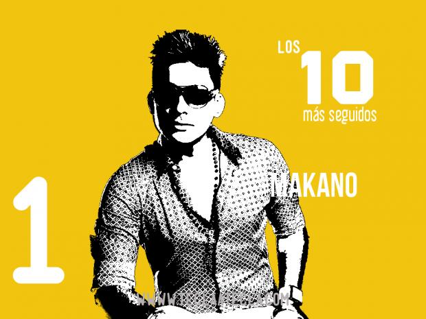 Makano - Los 10 más seguidos en Redes Sociales