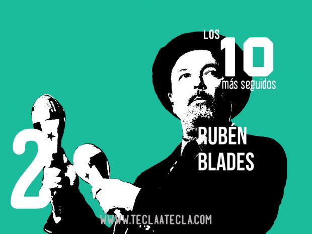 Ruben Blades - Los 10 más seguidos en Redes Sociales
